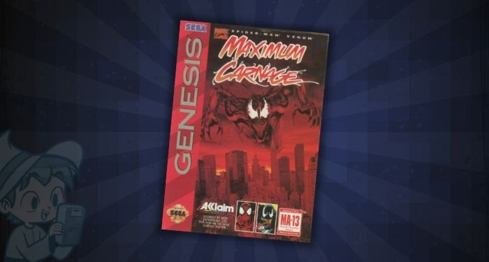 Maximum Carnage Collector's Edition - #15 Most Expensive Sega Genesis Games