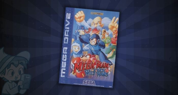 Megaman The Wily Wars (PAL)- #10 Most Expensive Sega Genesis Games