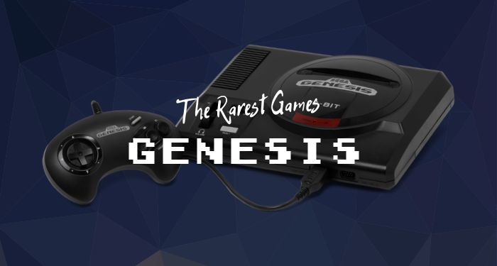 Most Expensive Sega Genesis Games