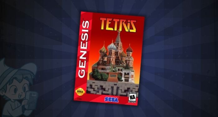 Tetris (Japan) - #1 Most Expensive Sega Genesis Games