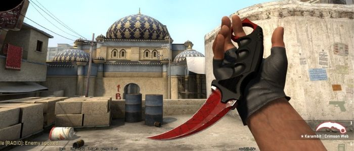 Karambit Knife – 15th in List of the Most Expensive Virtual Items