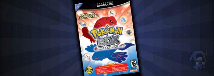 #2 Rare GameCube Games: Pokemon Box