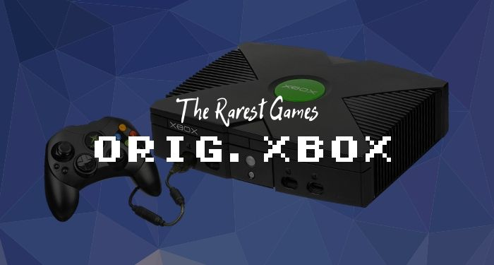 Rare Xbox Games - Original Xbox
