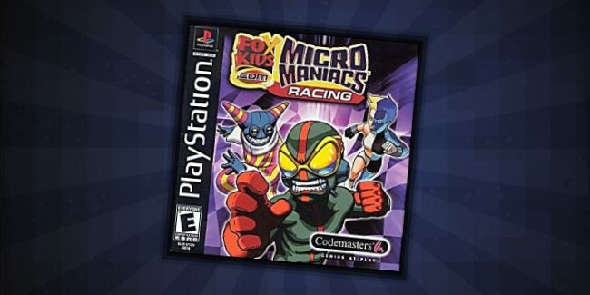 Micro Maniacs - #5 best PS1 Multiplayer Games