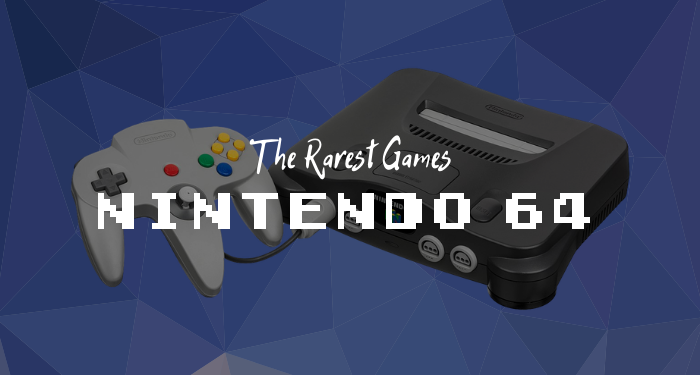 Most Expensive N64 Games
