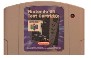 N64 Test Cart - #1 Most Expensive N64 Games