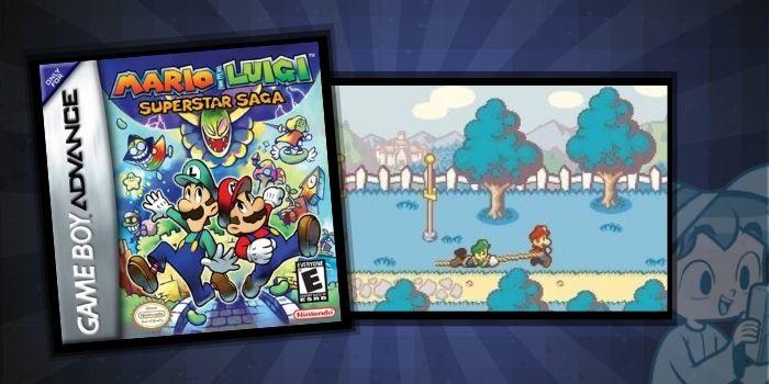 Mario and Luigi Superstar Saga - The #5 Best GameBoy Advance SP Games