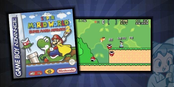 Super Mario World Super Mario Advance 2