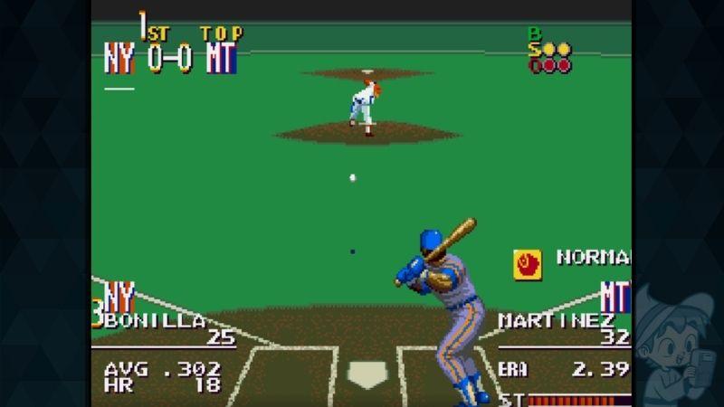 Sports Talk Baseball - #5 Best Sega Genesis Sports Games
