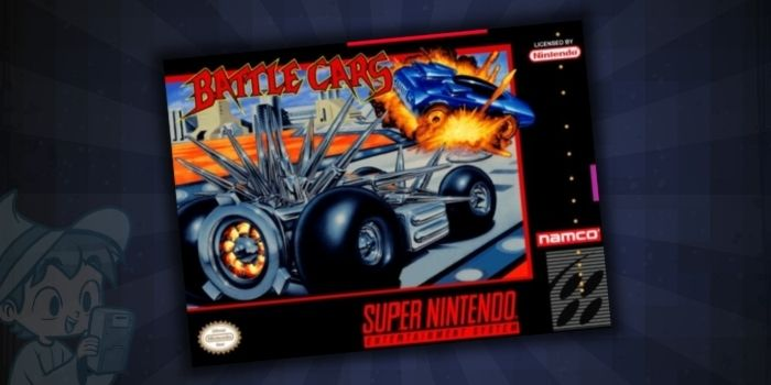 Battle Cars - #10 Best SNES Racing Games