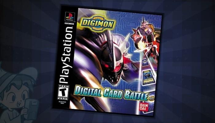 Digimon Digital Card Battle - #6 Best Digimon PS1 Games