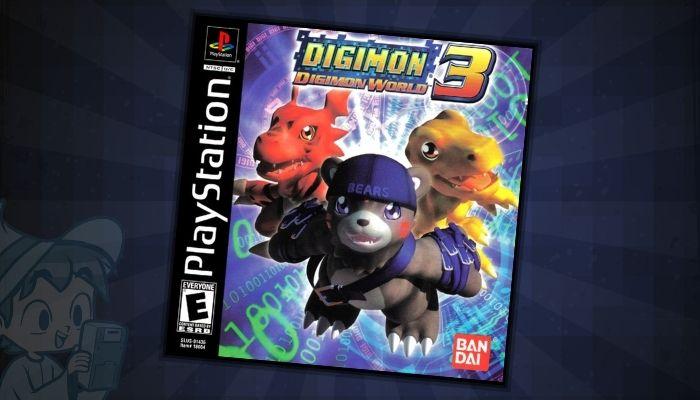 Digimon World 3 - #1 Best Digimon PS1 Games