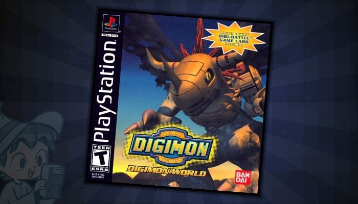 Digimon World - #11 Best Digimon PS1 Games