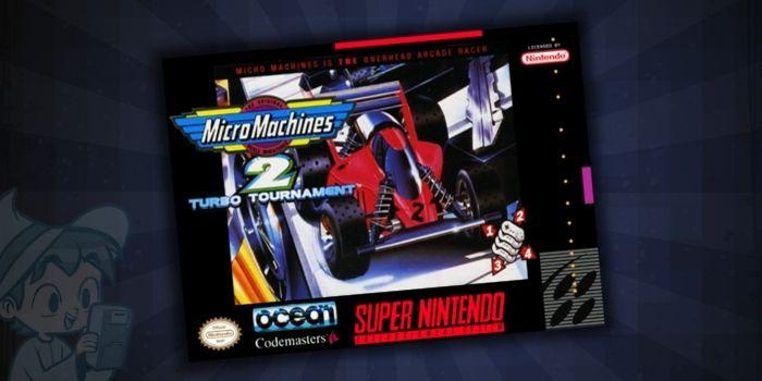 Micro Machines 2 Turbo Tournament - #5 Best SNES Racing Games