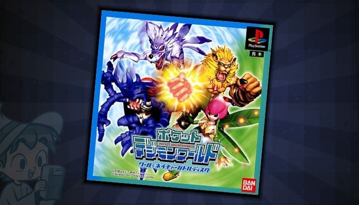 Pocket Digimon World Cool & Nature Battle Disc - #5 Best Digimon PS1 Games