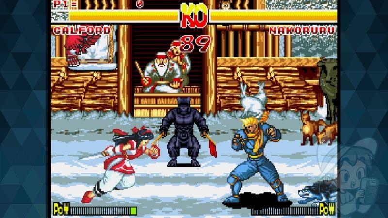 Samurai Showdown - #10 Best Sega Genesis Fighting Games