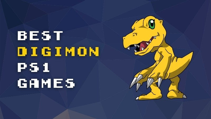 The Best Digimon PS1 Games