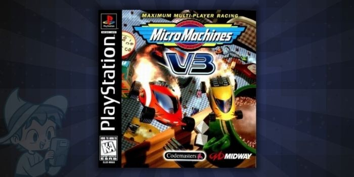 Micro Machines V3 - #5 Best PS1 Racing Games